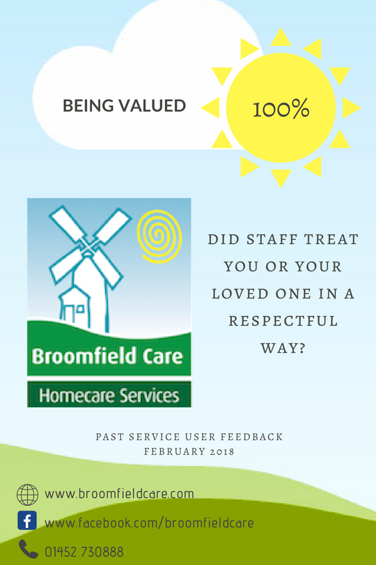 Broomfield Care Being Valued
