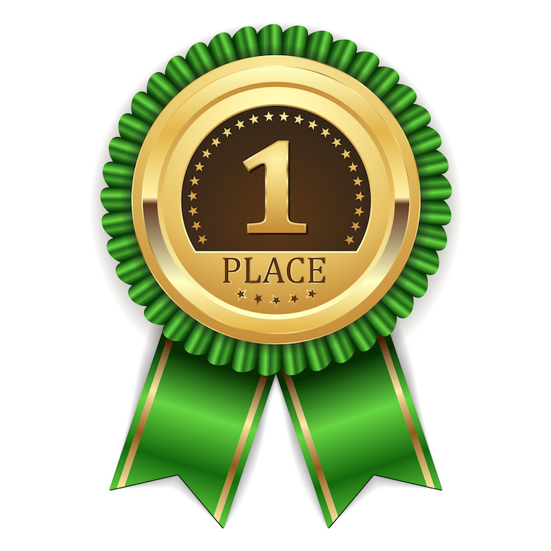 rosette-first-place