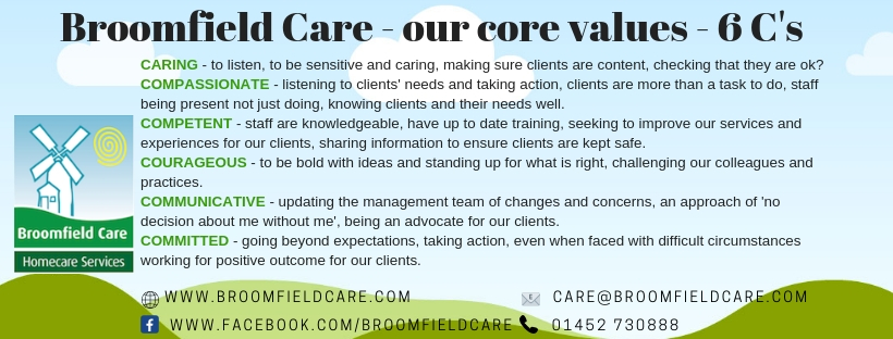 Broomfield Care Our Company Vision