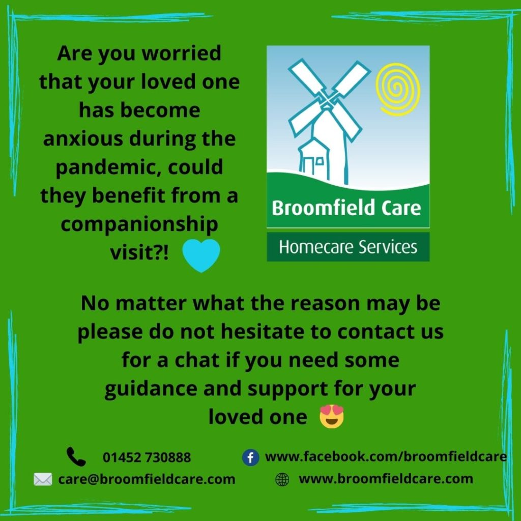 Broomfield Care Are you worried about your loved one?